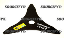 "Brushcutter Blade - 03 Teeth - 255 mm (10"") x 20 mm x 3.00 mm"