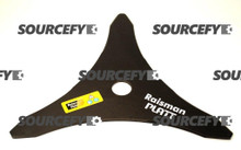 "Brushcutter Blade - 03 Teeth - 300 mm (12"") x 1"" (25.4 mm) 3.50 mm"