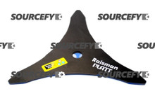 "Brushcutter Blade - 03 Teeth - 300 mm (12"") x 20 mm x 3.50 mm"