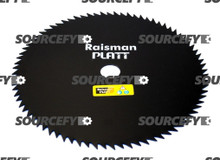 "Brushcutter Blade - 80 Teeth - 255 mm (10"") x 1"" (25.4 mm) x 1.80 mm"