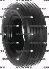 Lawn Mower Tire - Rib Style - 13X650X6 - 4 Ply Tubless
