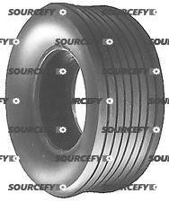 Lawn Mower Tire - Straight Rib Style -11X400X5-4 Ply Tubeless