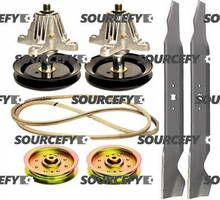 "Murray 42"" Mower Deck Rebuild Kit M155-42 M15542 M1642 M175-42"