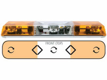 LIGHTBAR (ROTATOR/AMBER) 6363011