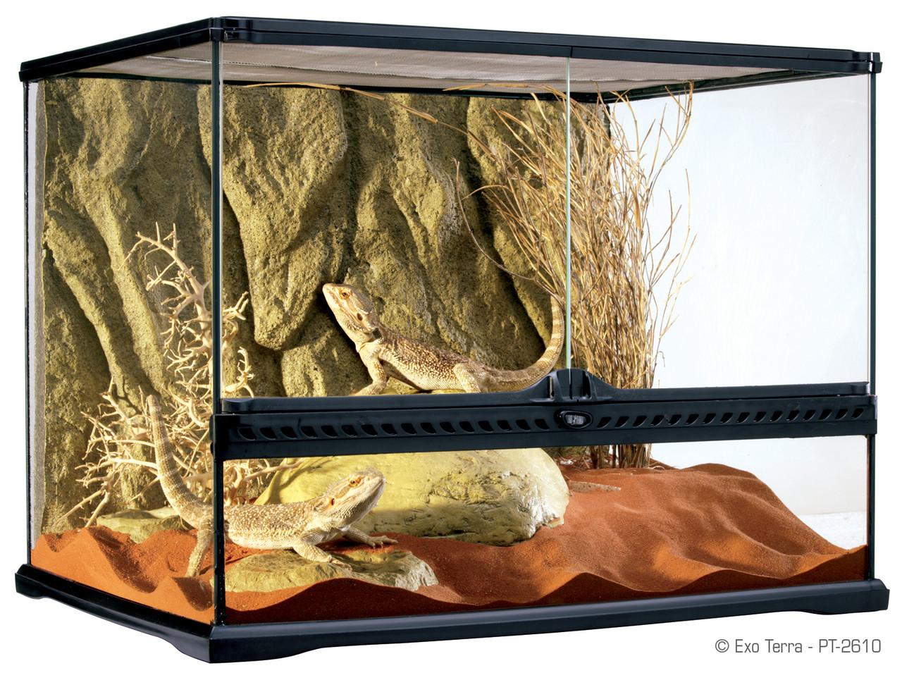 Exo Terra Natural Terrarium Medium 60 X 45 X 45 Cm 24 X 18 X 18