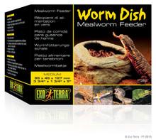 Exo Terra Worm Dish Mealworm Feeder