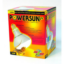 Zoo Med Powersun UV Mercury Vapor Lamp 160w