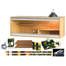 Vivexotic Viva Vivarium: Bearded Dragon Starter Kit (Flat Pack)