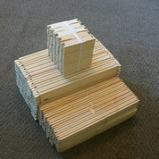 UNASSEMBLED WOOD FRAME FOR HONEY SUPERS