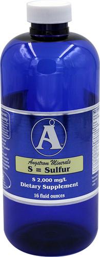 Angstrom Minerals - Sulfur 16 oz