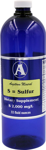Angstrom Minerals - Sulfur 32 oz