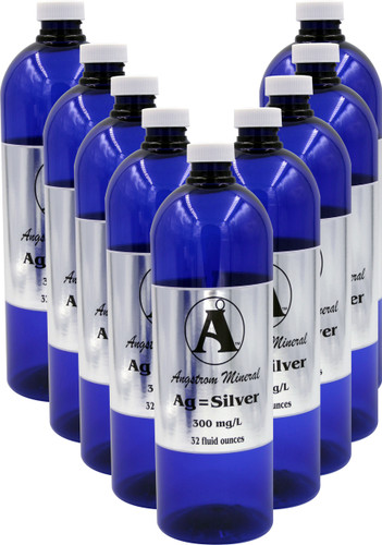 Angstrom Minerals Silver 32 oz Case Lot