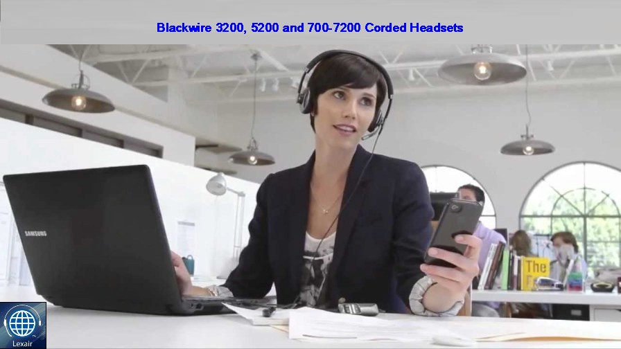 Plantronics Blackwire 300, 500, 700 UC Headsets