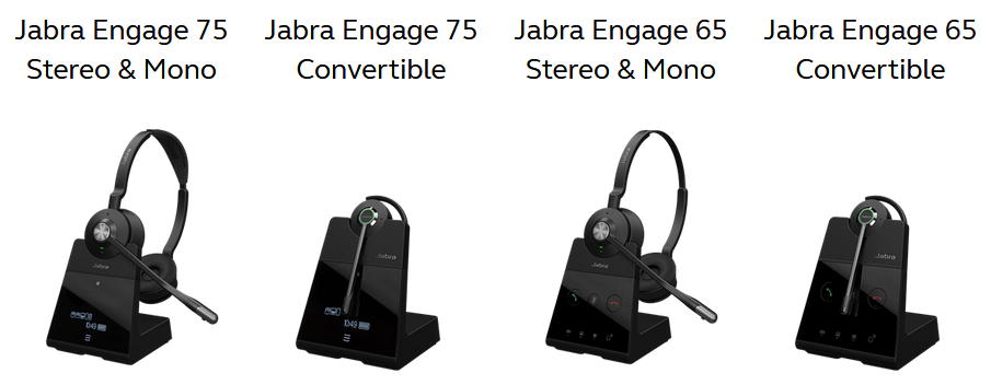 19e91862fbb NEW! Jabra Engage Series DECT Wireless Headsets - Lexair