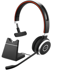 Jabra Evolve 65 Mono MS w/Charging Stand (6593-823-399)
