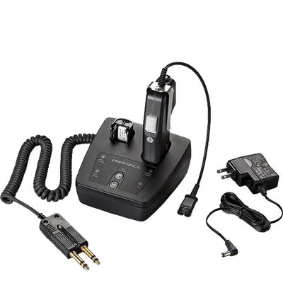 CA12CD-S Push-to-Talk Headset Adapter designed to provide encrypted communications and PTT functionality for applications such as Public Safety dispatch and Air Traffic Control