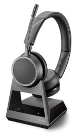 Voyager V4220 CD Office USB-C with PC and Deskphone, 2-Way Wireless Bluetooth Headset