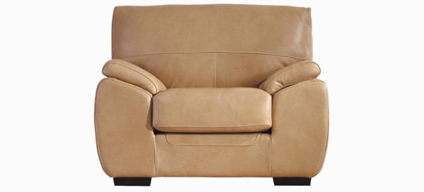 Jaymar Cavalia Chair available in leather, fabric, and microfiber.