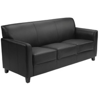 Flash Furniture | HERCULES Diplomat Series Black Leather Sofa
