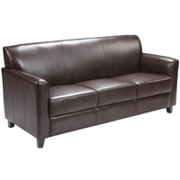 Flash Furniture | HERCULES Diplomat Series Brown Leather Sofa