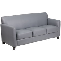 Flash Furniture | HERCULES Diplomat Series Gray Leather Sofa
