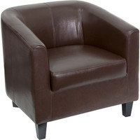 Flash Furniture | Brown Leather Lounge Chair