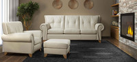 Jaymar Erica line also has sofas, chairs, loveseats, and ottomans available!