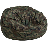 Flash Furniture | Oversized Camouflage Kids Bean Bag Chair