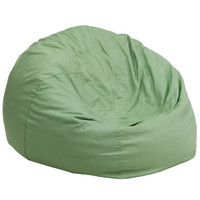 Flash Furniture | Oversized Solid Green Bean Bag Chair