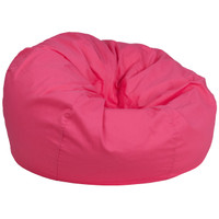 Flash Furniture | Oversized Solid Hot Pink Bean Bag Chair