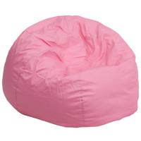 Flash Furniture | Oversized Solid Light Pink Bean Bag Chair