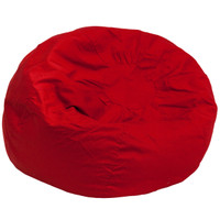 Flash Furniture | Oversized Solid Red Bean Bag Chair
