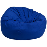 Flash Furniture | Oversized Solid Royal Blue Bean Bag Chair