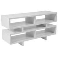 Flash Furniture | Highgate White Finish TV Stand and Media Console