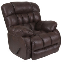 Flash Furniture | Contemporary Breathable Comfort Nevada Chocolate Fabric Rocker Recliner