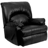 Flash Furniture | Contemporary Apache Black Leather Rocker Recliner