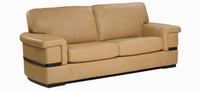 Jaymar Pedro Apartment Sofa is available in high quality leather, fabric, or microfiber.