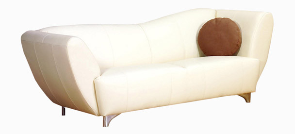 Jaymar Scorpio Apartment Sofa is available in high quality leather, fabric, or microfiber.