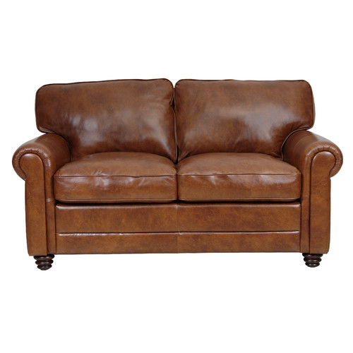 Luke Leather Andrew Loveseat