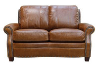 Luke Leather Ashton Loveseat