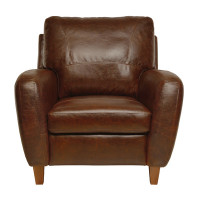 Luke Leather Jennifer Chair