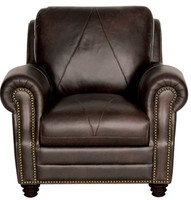 Luke Leather Solomon Chair