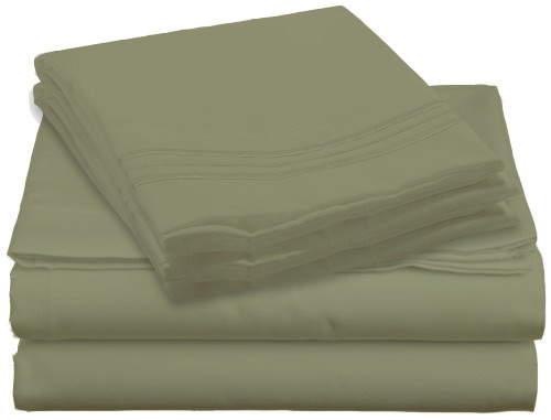Design Center West Sheets That Breathe - Sage available in King, Queen, Full, or Twin sizes!