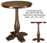 Accents Beyond | Pub Table | 1607-D