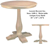Accents Beyond | Bistro Table | 1608-A