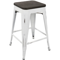 Lumisource | Oregon Counter Stool - Set of 2 | CS