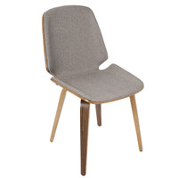 Lumisource | Serena Chair - Set of 2 | CH-SER WL+LGY2