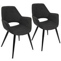 Lumisource | Mustang Chair | CH-MSTNG BK2