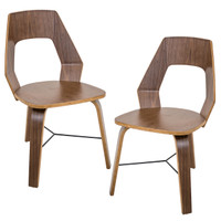 Lumisource | Trilogy Chair Set Of 2 | CH-TRILO A2 WL