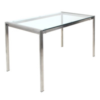 Lumisource | Fuji Dining Table | TB-FUJI4728 CL